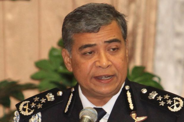 Inspector-General of Police Tan Sri Khalid Abu Bakar