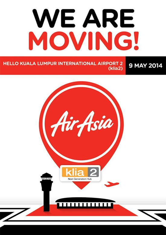 AirAsia, AirAsia X to begin operations at klia2 on May 9