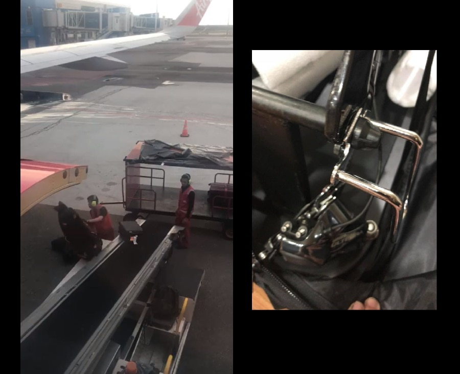 Tony says sorry after AirAsia baggage handlers caught throwing luggage