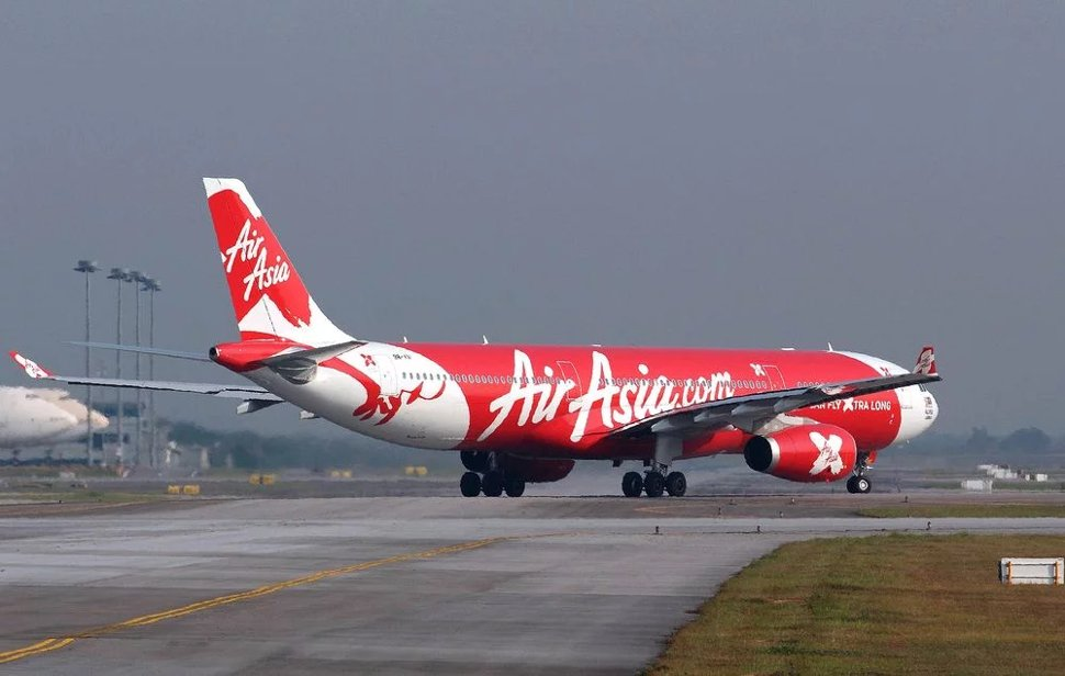 AirAsia's flight landing