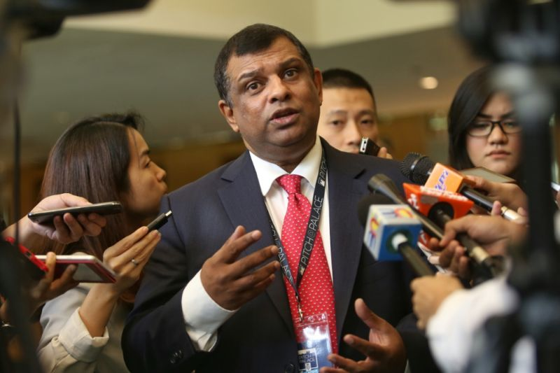 Tan Sri Tony Fernandes wants AirAsia's customer service to be as responsive as that of online retailer Amazon. — File picture by Saw Siow Feng