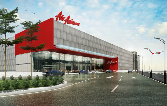 Artist impression: AirAsia New Headquarters