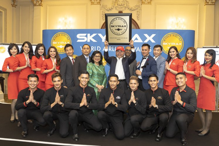 AirAsia named 'world's best' for 10th consecutive year