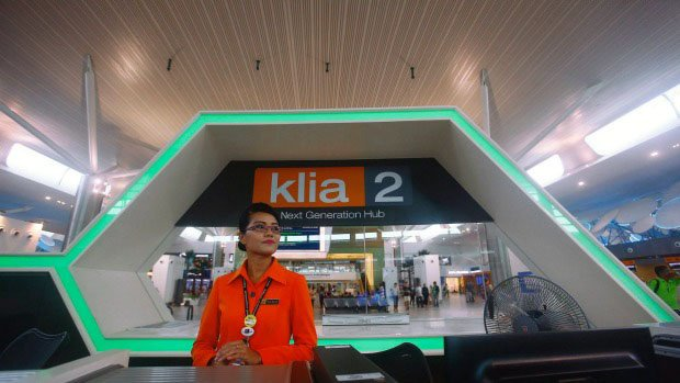 Departure Hall at klia2