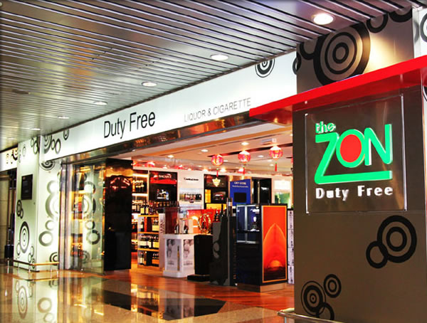 Duty Free International's The Zon Duty Free is a prominent name in Malaysian travel retail