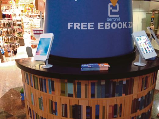 E-Book lending soars at airport