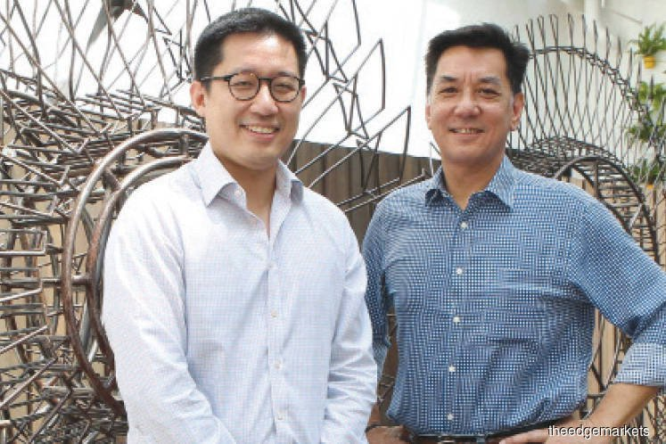 Ormond Group CEO Gareth Lim and the Head of Ormond Group Development and Partnerships and CEO of Tune Hotels Mark Lankester
