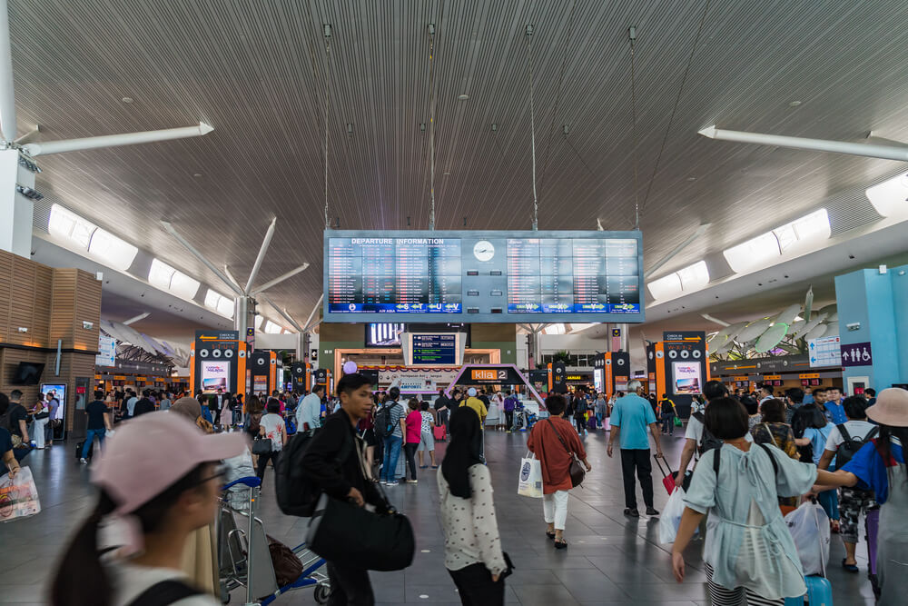 The Kuala Lumpur International Airport 2 (klia2) in Sepang saw a total of 2.87 million travelers passing through in 2017