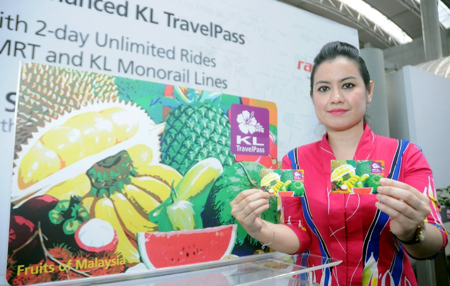 Similar to London's Oyster Card and Hong Kong's Octopus Card, the KL TravelPass offers airport transfer using the KLIA Ekspres and two days of unlimited rides on Rapid KL rail services, namely the Light Rail Transit (LRT), the Mass Rapid Transit (MRT) and the KL Monorail.