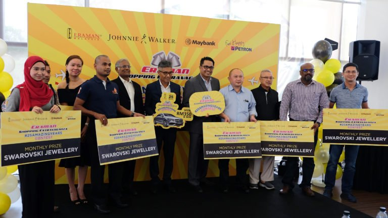 The prize fund was worth more than RM1.2 million (US$300,000). Other winners are pictured above and below.