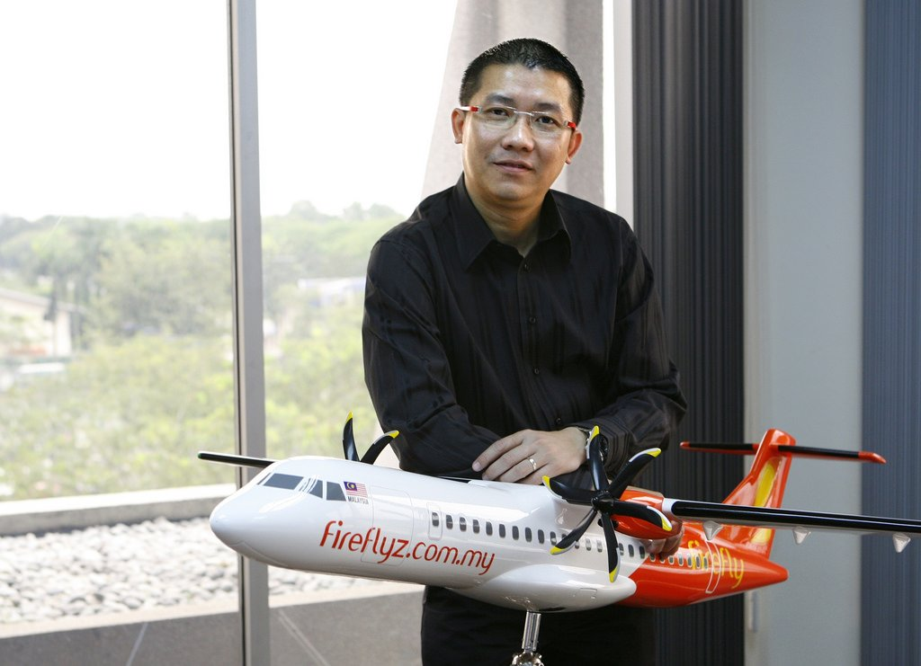 Firefly CEO Ignatius Ong