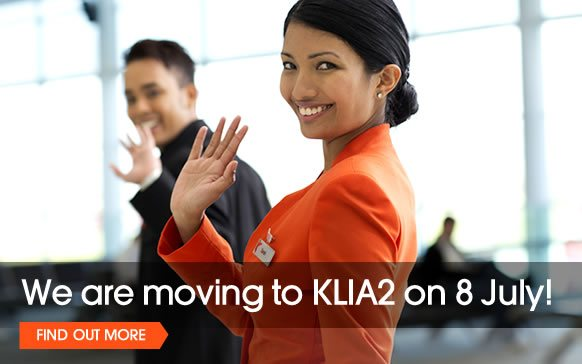 Jetstar Asia Moving to klia2