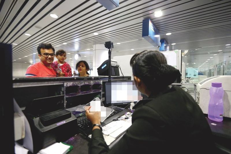 More than 50 per cent of those manning Immigration counters at KLIA have been replaced. - Malay Mail pic