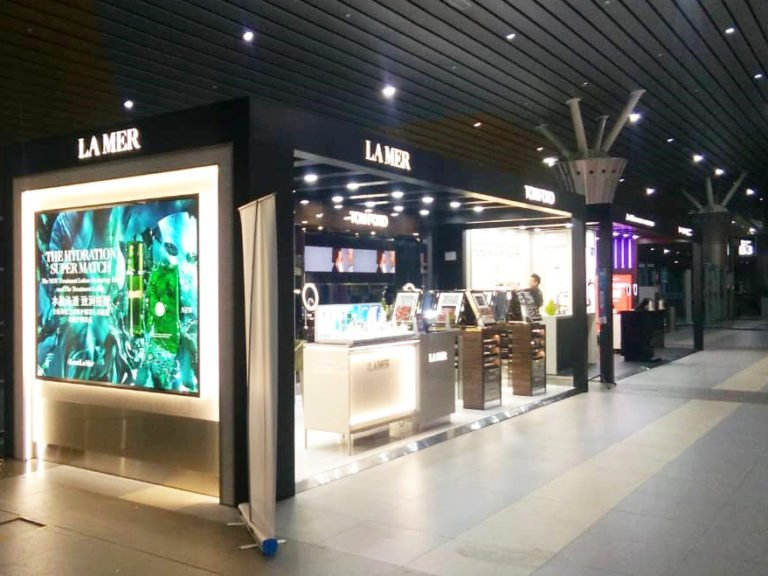 New frontiers: The beauty concept is a first for Eraman at a regional airport in Malaysia