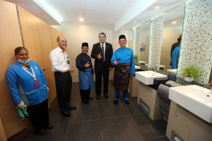 KLIA unveils 131 newly-upgraded restrooms; refurbishment cost RM30 million