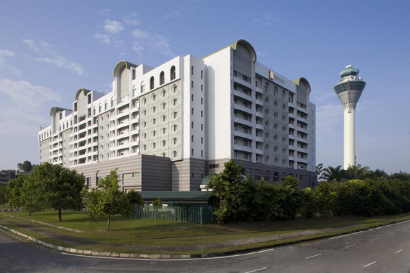 The award winning Pan Pacific Kuala Lumpur International Airport Hotel