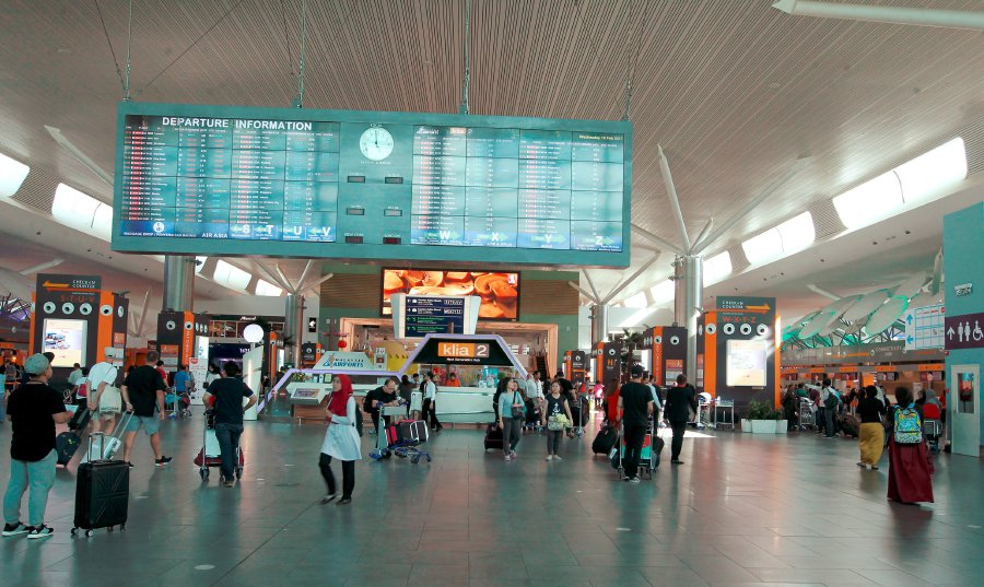 klia2 departure hall