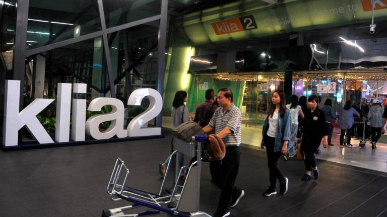 Entrance to klia2's Departure Hall