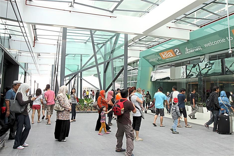 klia2 opening its door for public at open day.