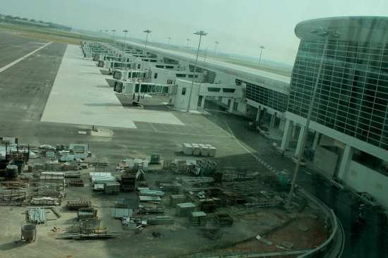klia2 Work in progress, 8 Jan 2014