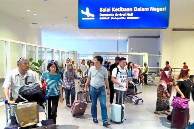 No congestion: Travellers at KLIA and klia2 breezing through the checkpoints with little waiting time.