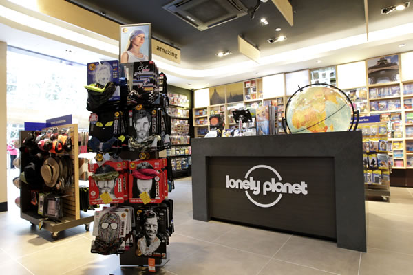 The Lonely Planet store