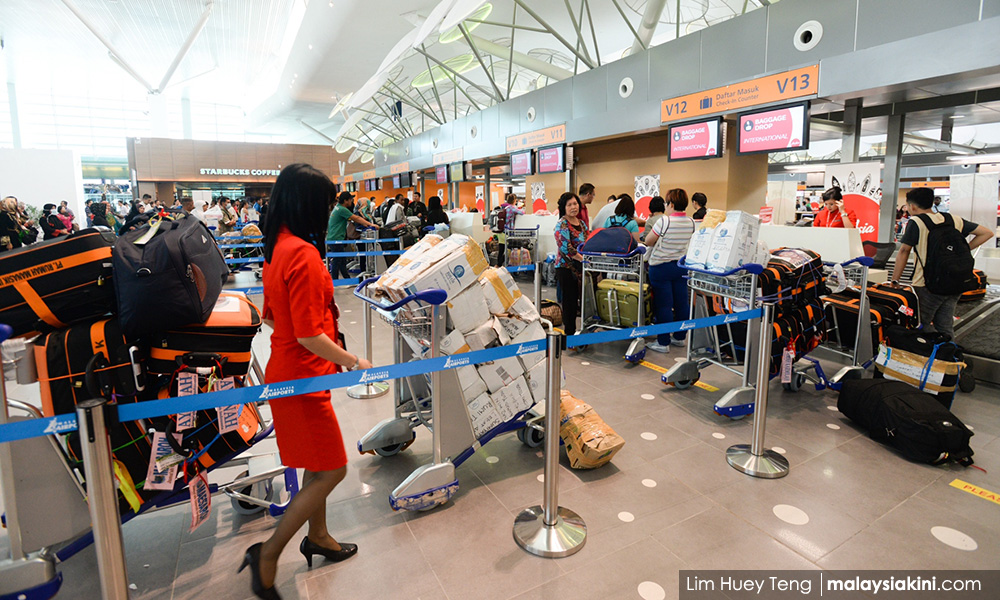 check in counters at klia2