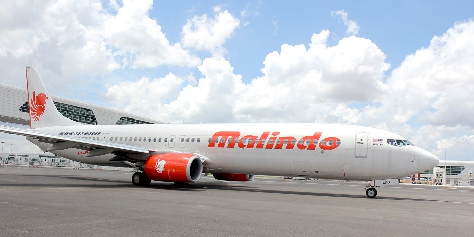 Malindo Air at the klia2