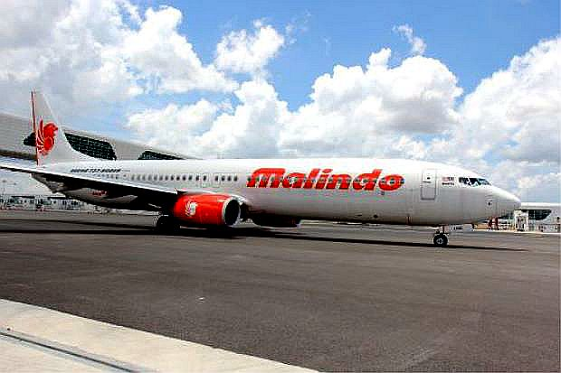 A file pix of a Malindo Air plane.