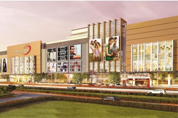 Artist's impression of Paradigm Mall Johor Baru which opened this week.