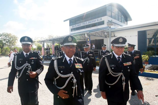 KLIA is country's latest police district