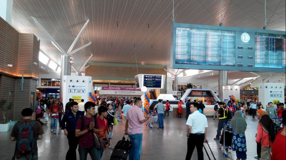 The Kuala Lumpur International Airport 2 is a hybrid airport with a mall attached to it. - pic from www.klia2.info, December 2, 2017.