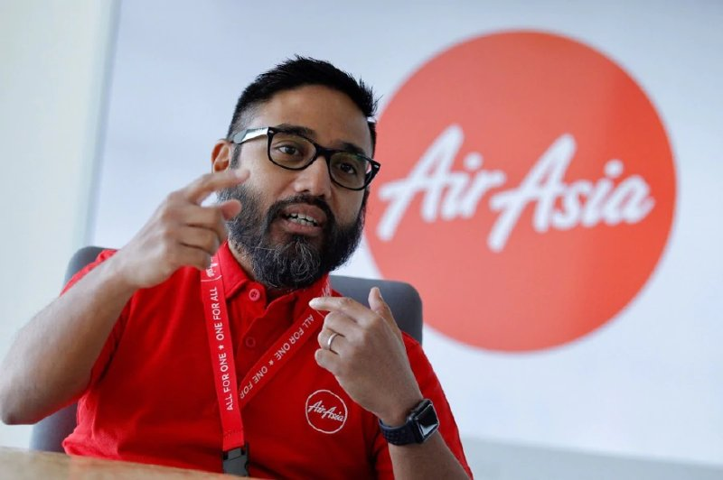 AirAsia's newly appointed chief executive officer Riad Asmat
