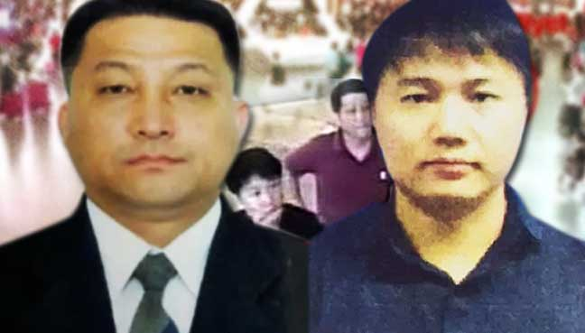 North Korean diplomat seen sending off 4 murder suspects
