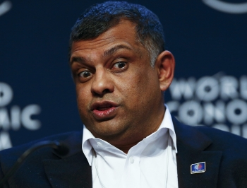 AirAsia group chief executive officer Tan Sri Tony Fernandes took to Twitter to express his frustrations with klia2. ?The Malaysian Insider pic, May 20, 2014.