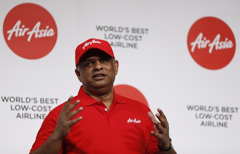 AirAsia's Tony Fernandes upbeat about new MAS boss