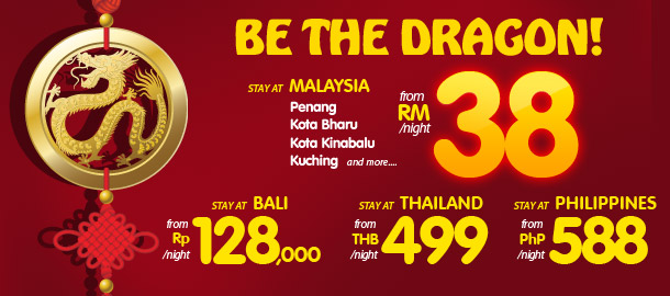 TuneHotels Promotion - Be The Dragon