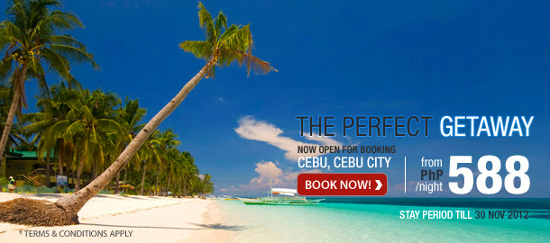 TuneHotels Promotion - Cebu