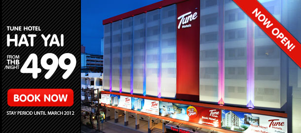 TuneHotels Promotion - Hat Yai