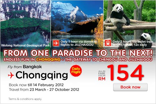 AirAsia Promotion - From One Paradise To The Next!
