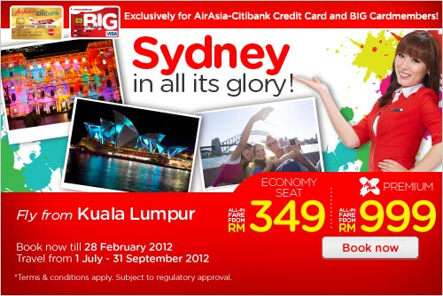 AirAsia Promotion - Sydney In All Its Glory