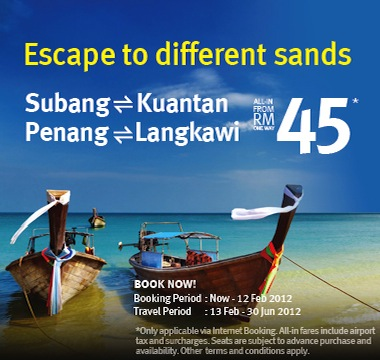 Firefly Promotion - Escape to different sands