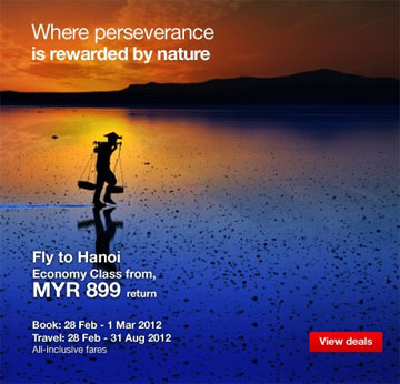 Malaysia Airlines Promotion - Deal of the day