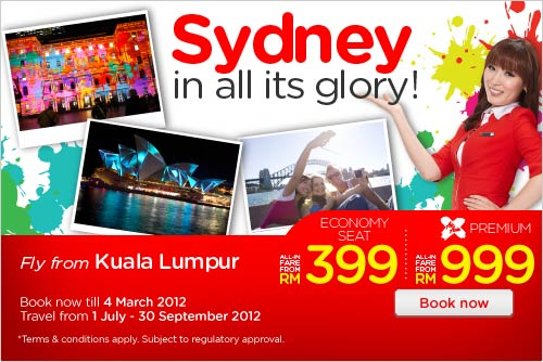 AirAsia Promotion - Sydney in all its glory!