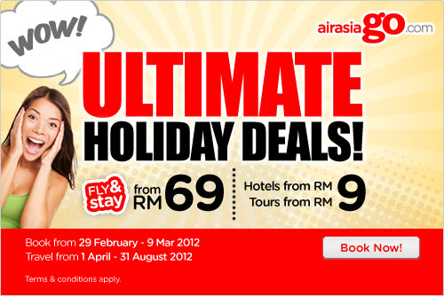 AirAsia Promotion - Ultimate Holiday Deals