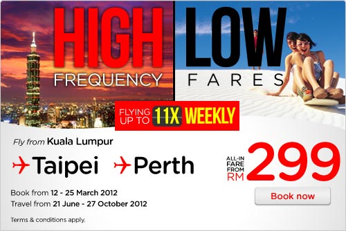 AirAsia Promotion - High Frequency, Low Fares!!