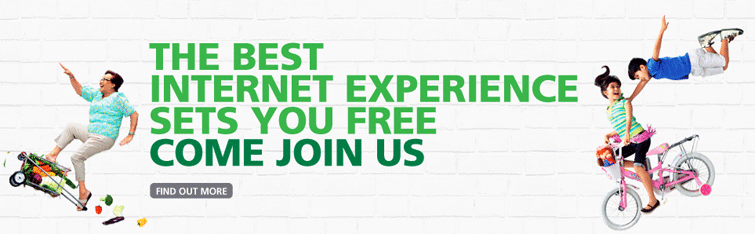 Maxis Promotion: The Best Internet Experience Sets You Free