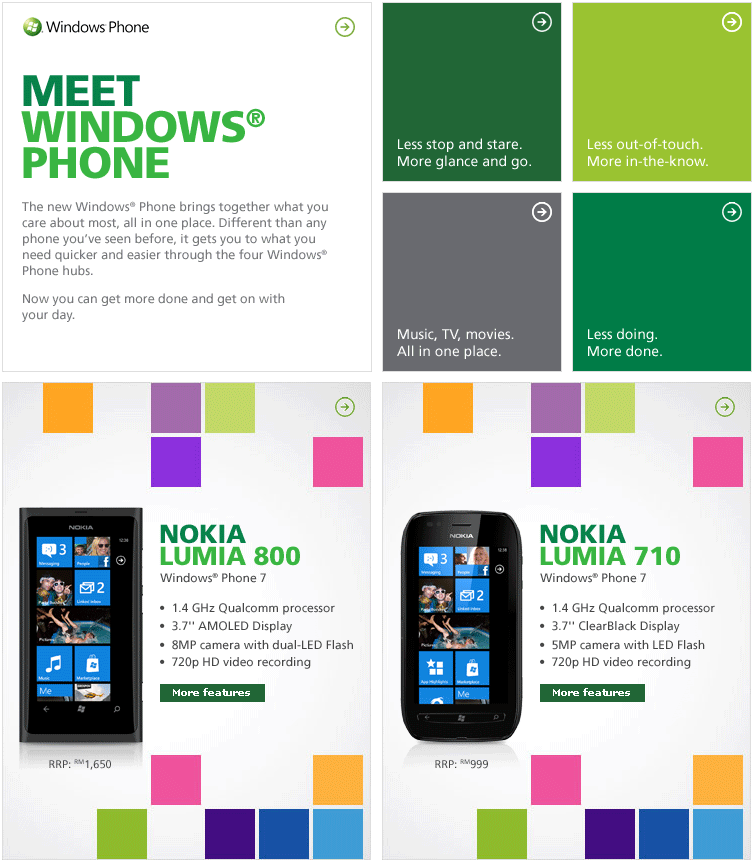 Maxis Promotion: Meet Windows Phone