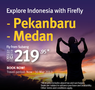 Firefly Promotion - Explore Indonesia with Firefly
