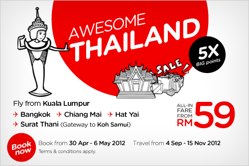 AirAsia Promotion - Awesome Thailand